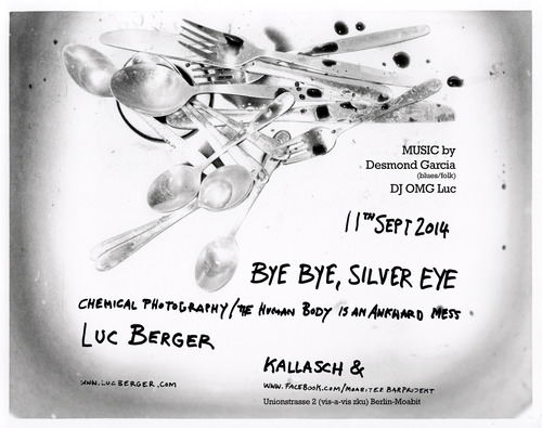 Luc Berger Complete List of Exhibitions